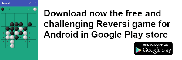 Android Reversi game